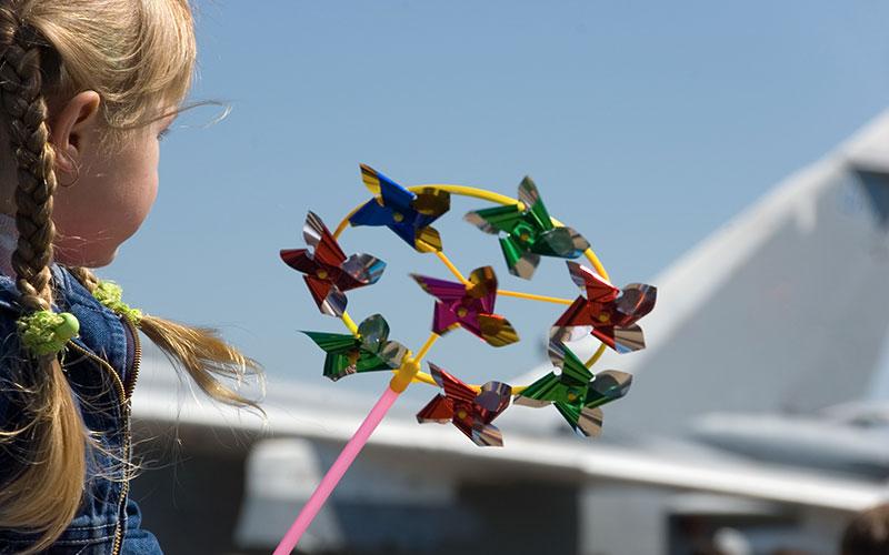 Kids' Zone at airshow