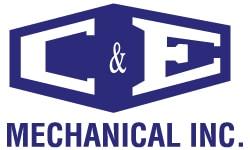 C&E Mechanical Logo